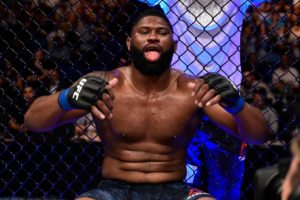 Curtis Blaydes and Daniel Cormier