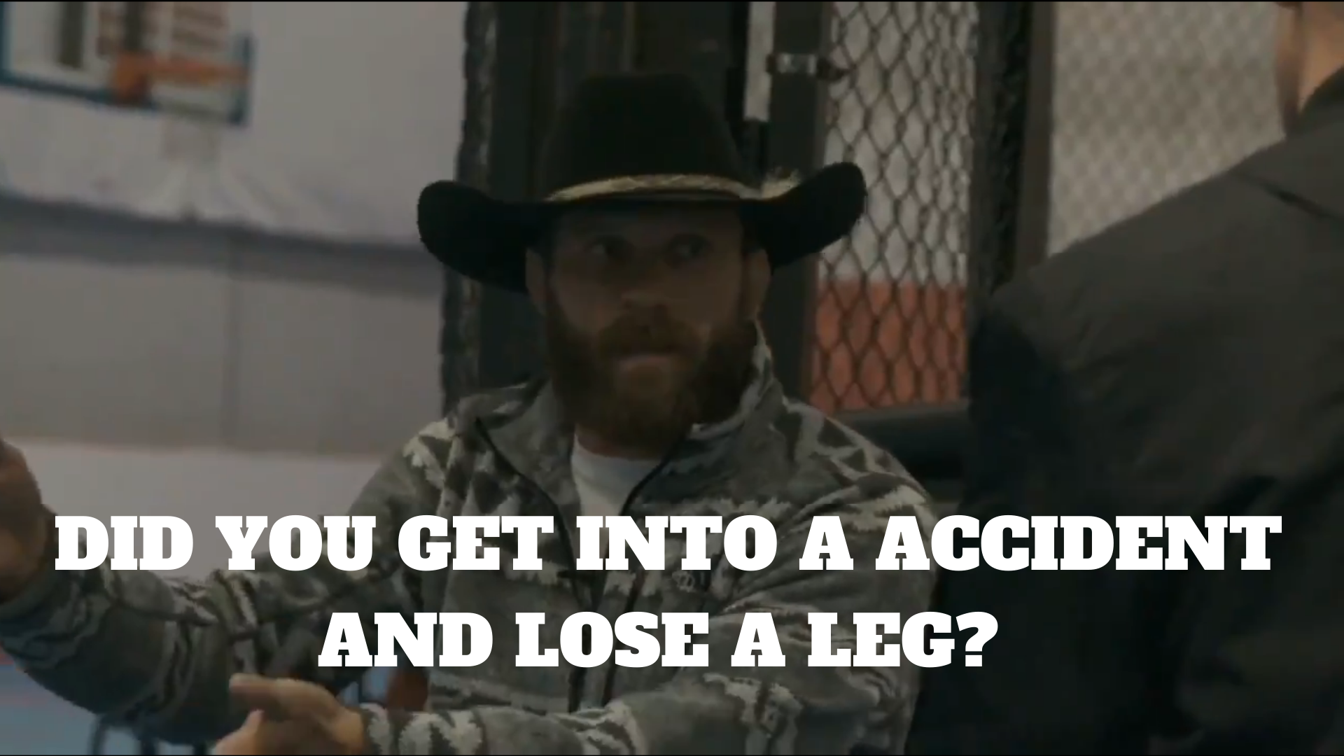 Watch: Cowboy moving motivational speech to a young MMA fighter who lost an amateur bout - cowboy