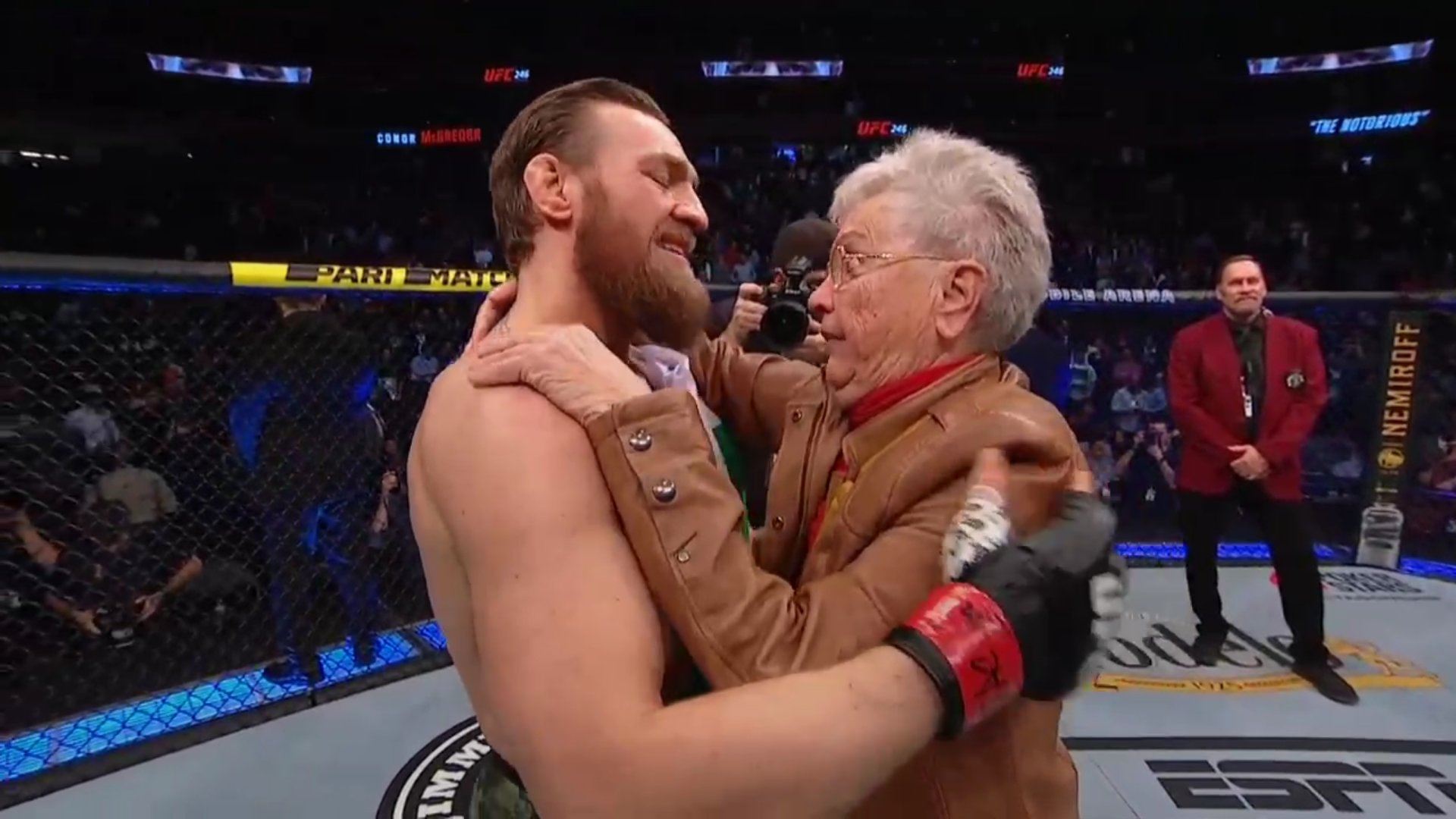 UFC News: Watch what Conor McGregor said to Donald Cerrone and his grandmother after UFC 246 win - Conor McGregor