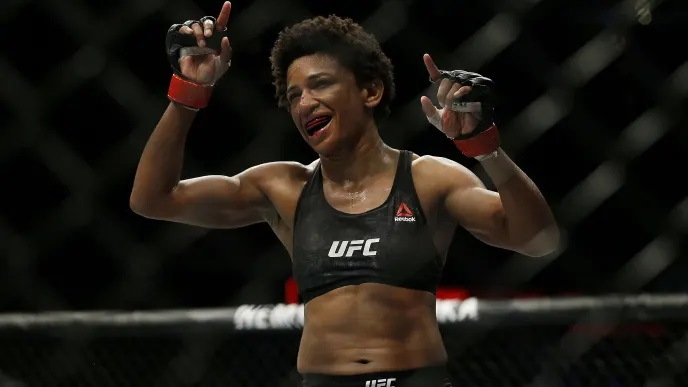 UFC Fight Night 166 Results - Angela Hill Dominates Hannah Cifers, Stops Her in Second Round -