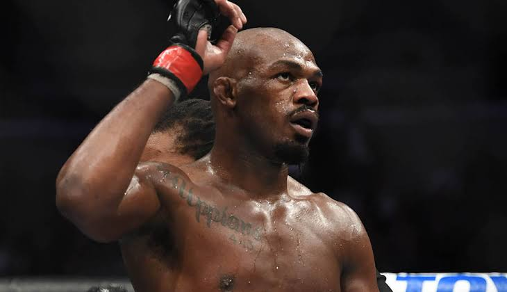A ripped looking Jon Jones 'declares victory' ahead of UFC 247 clash with Dominick Reyes - Jon Jones