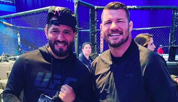 Michael Bisping reveals that he could have been friends with Jorge Masvidal had they met under different circumstances - Bisping