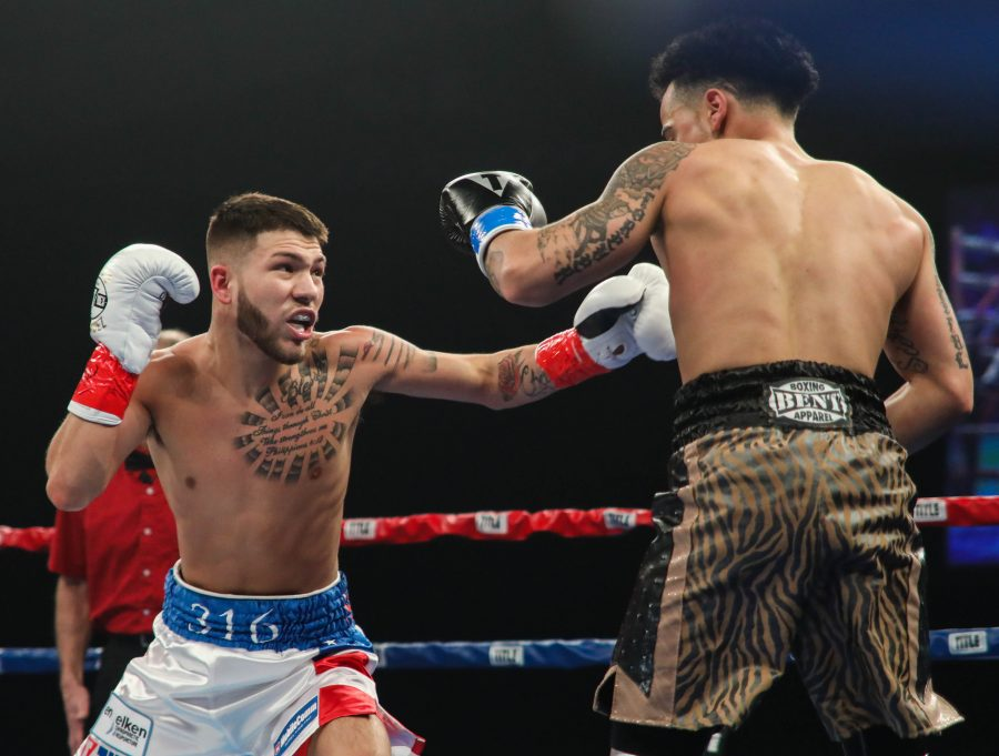 Rio Olympic Boxing medalist Nico Hernandez signs with Bare Knuckle FC - Hernandez