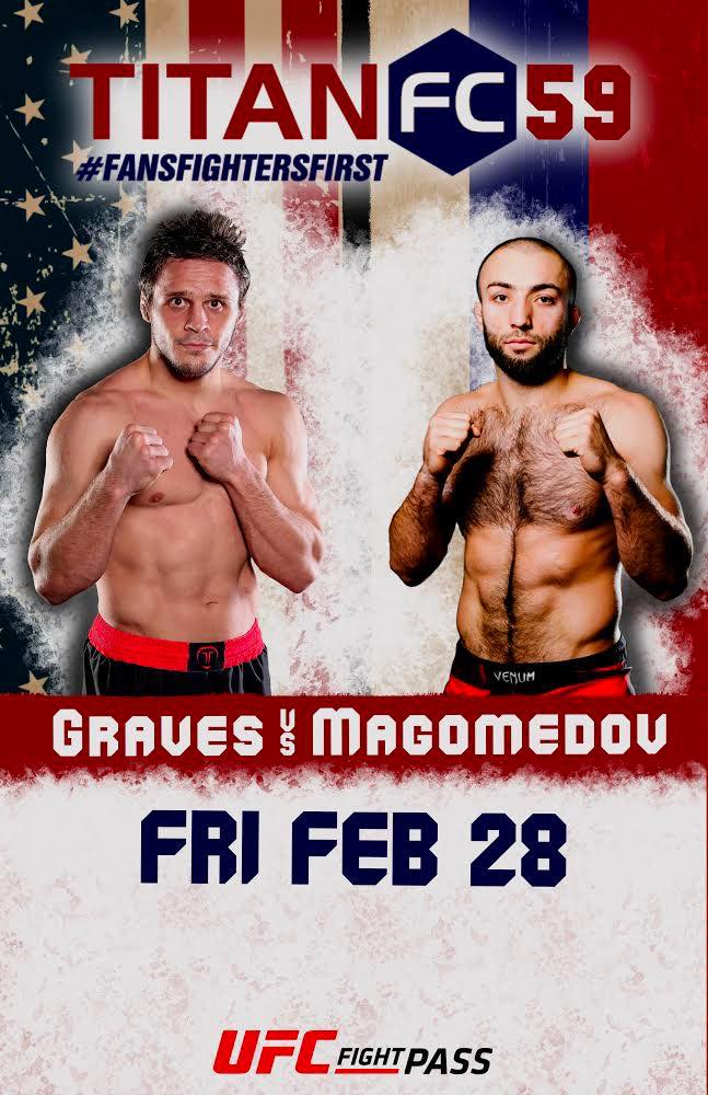 Michael Graves and Kamal Magomedov meet in title unification bout at Titan FC 59 -