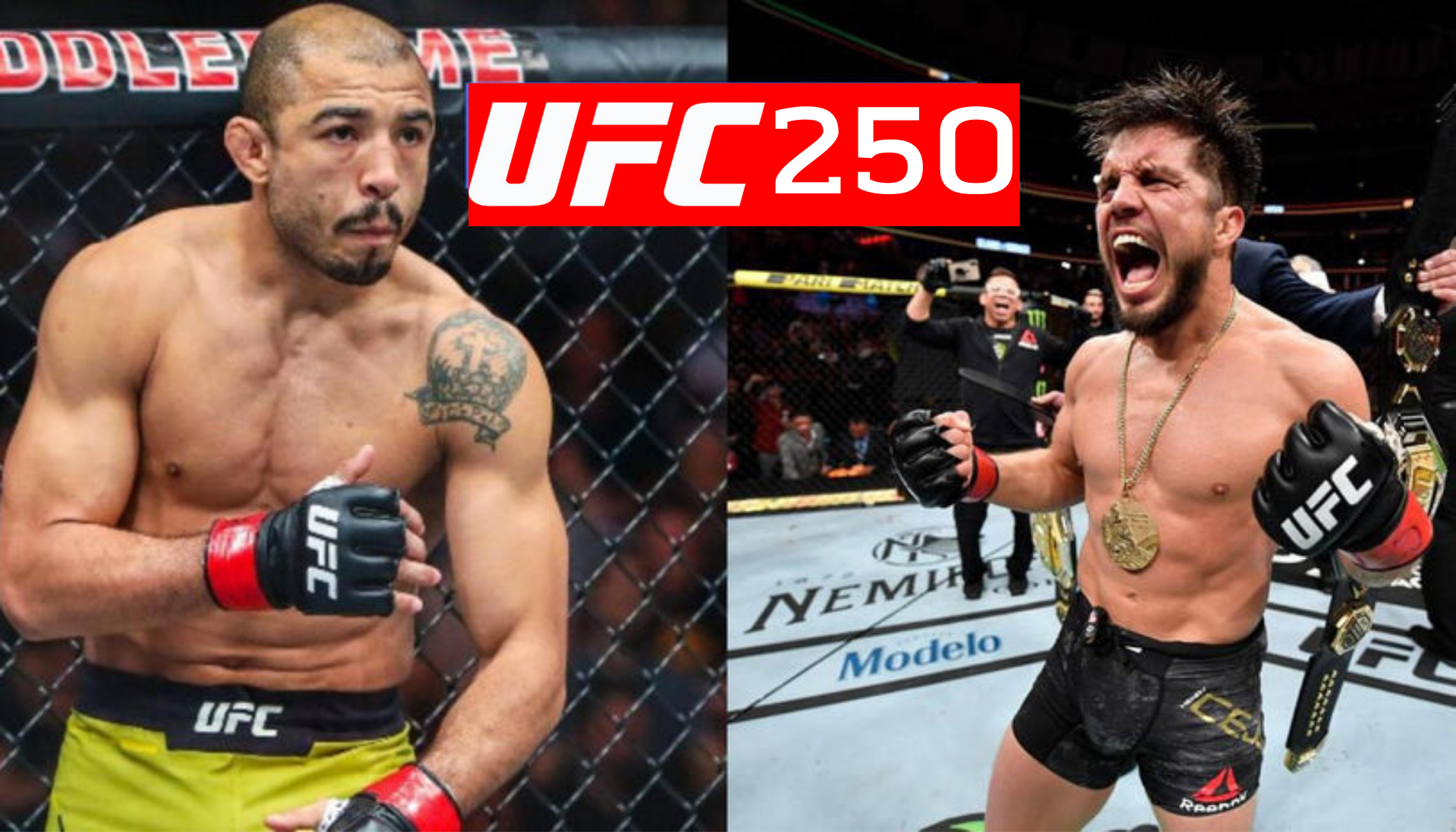 Henry Cejudo vs Jose Aldo targeted for UFC 250 - Cejudo