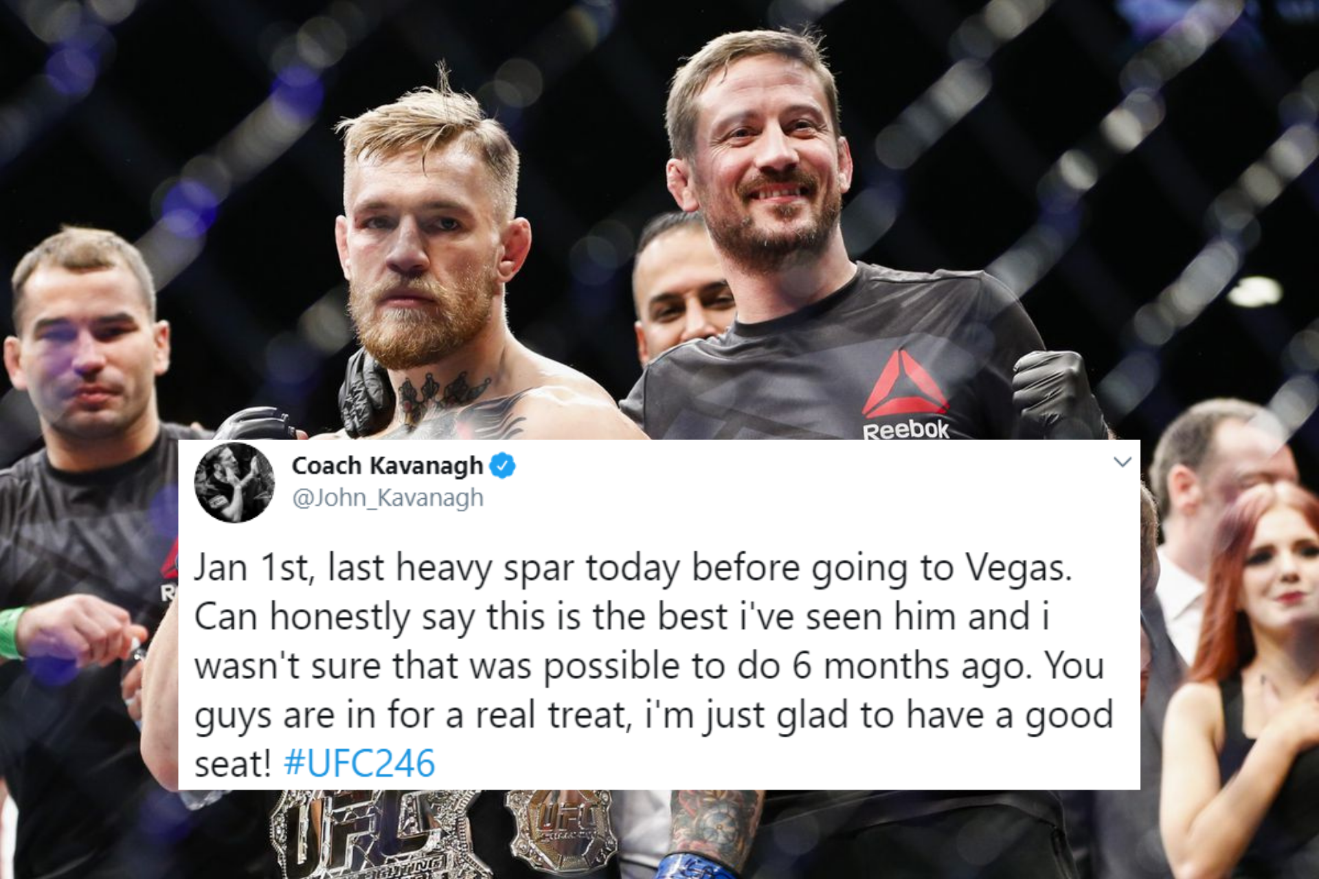 John Kavanagh promises a 'treat' for fans when Conor McGregor returns: 'This is the best I've seen him' - Conor