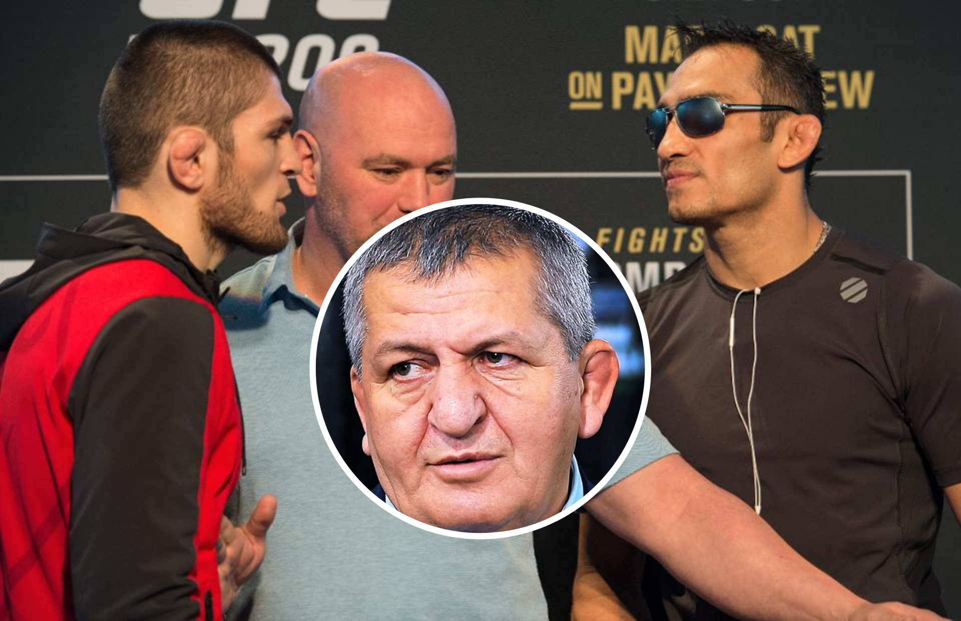 Khabib's father believes Tony Ferguson fight may be 25 minute war! - Ferguson