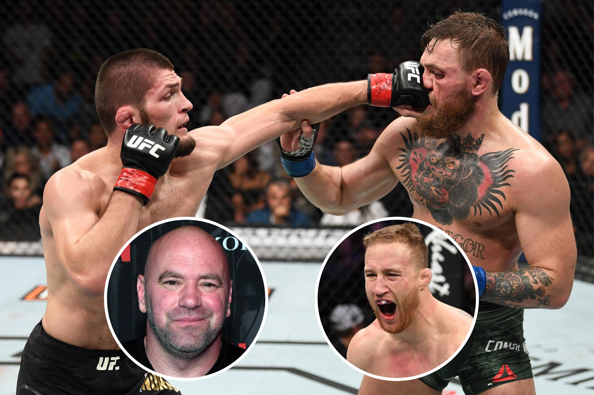 Justin Gaethje confused by Dana White's statement - but understands why Conor vs Khabib may be next - Gaethje