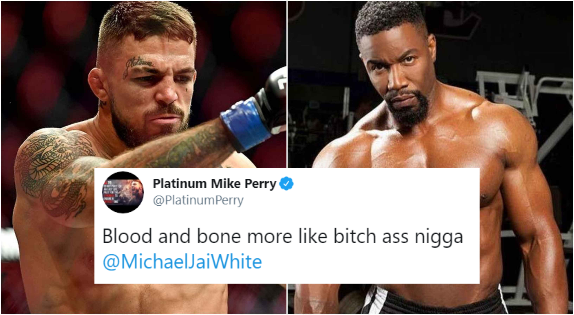Mike Perry calls Michael Jai White a 'n***a' and Twitter is not happy! - Mike