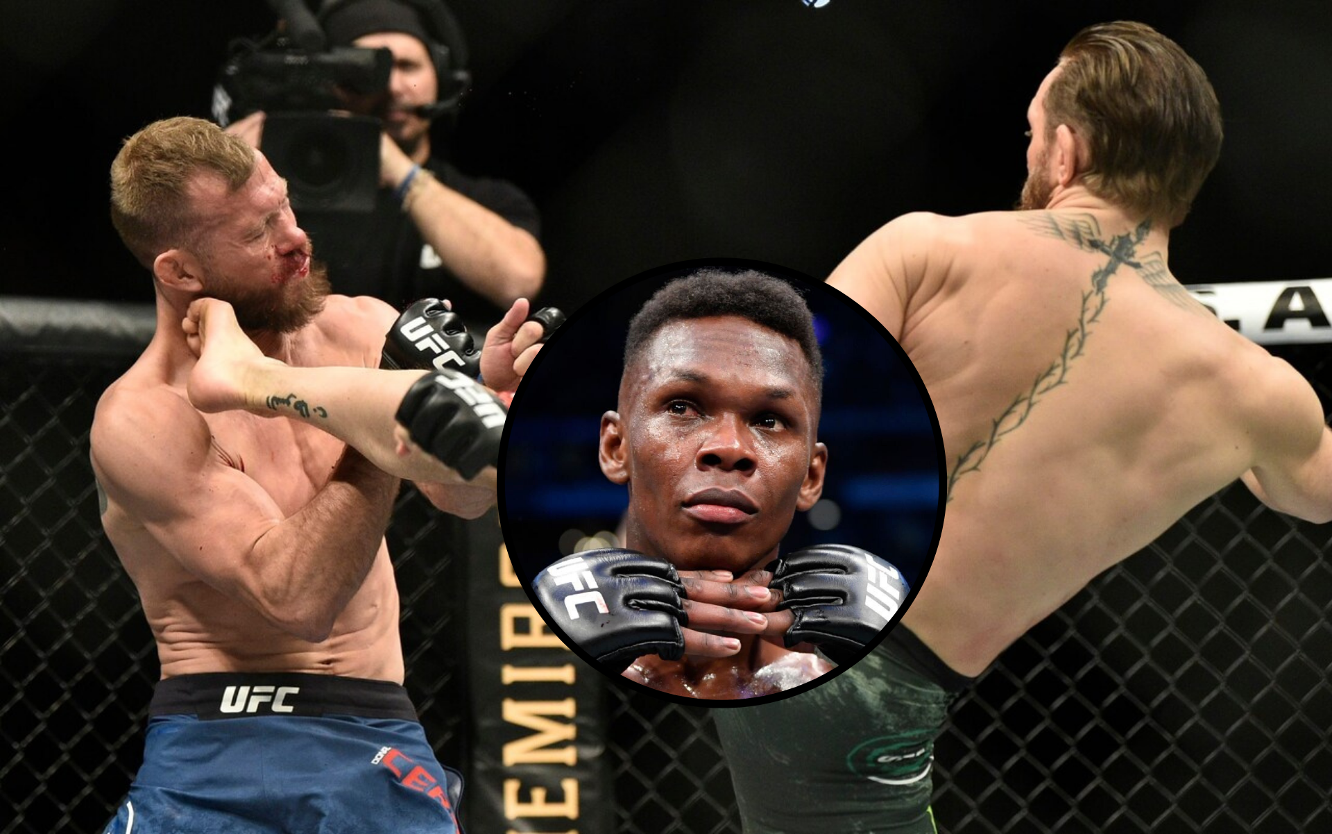 Israel Adesanya impressed with 'gangster' Conor McGregor shoulder strikes at UFC 246 - Adesanya