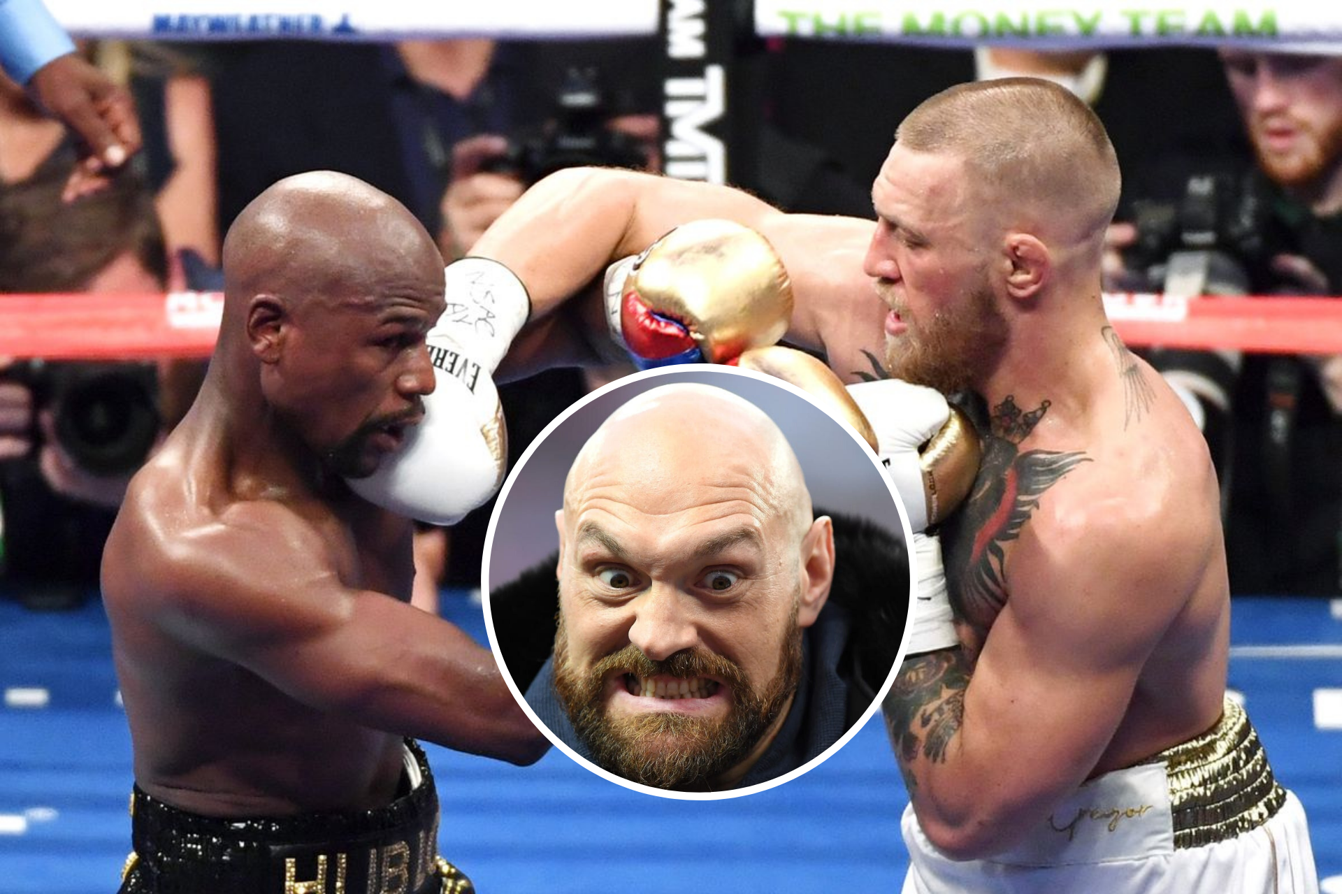Tyson Fury thinks Conor McGregor was 'doing as well as anybody' against Floyd Mayweather; open to rematch - Floyd
