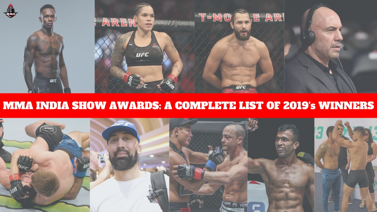 MMA INDIA SHOW AWARDS: A COMPLETE LIST OF 2019's WINNERS - MMA India