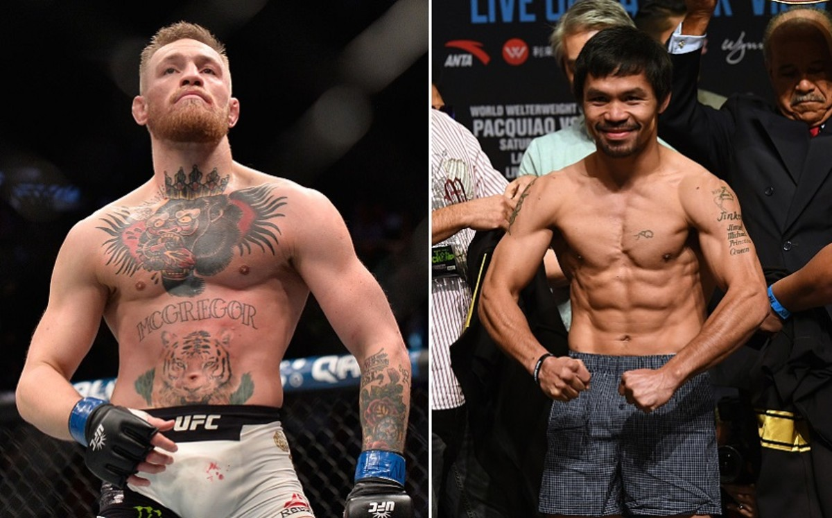 UFC News: Conor McGregor reveals 'ongoing talks' for Manny Pacquiao boxing superfight - pacquiao