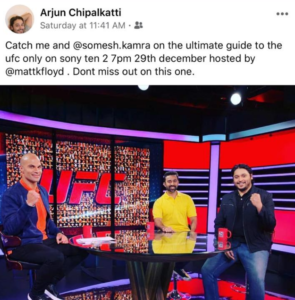 Sony MMA analyst uses derogatory term for Indians in social media post - Indian