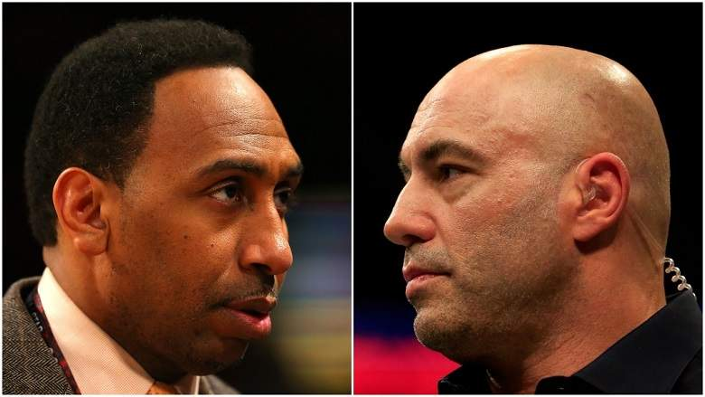 War of words between Joe Rogan and Stephen A. Smith continues - sTEPHEN