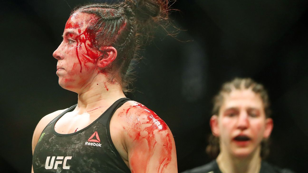 Maycee Barber puts out a classy message after one sided UFC 246 loss to Roxanne Modafferi - Maycee