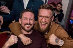 Conor McGregor and John Kavanagh