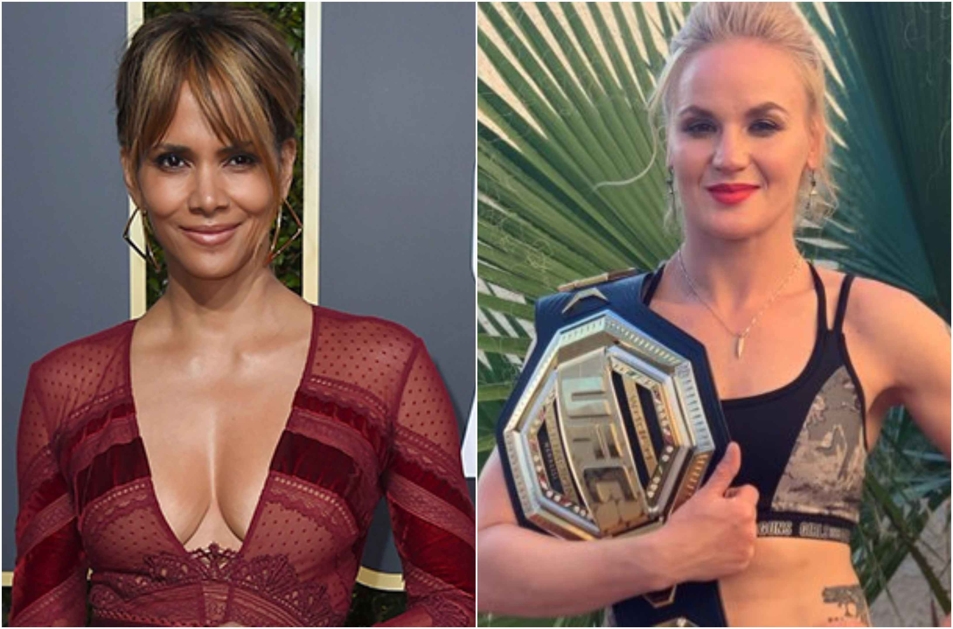 UFC News: Watch Valentina Shevchenko's interaction with Halle Berry after UFC 247 title defence - Valentina