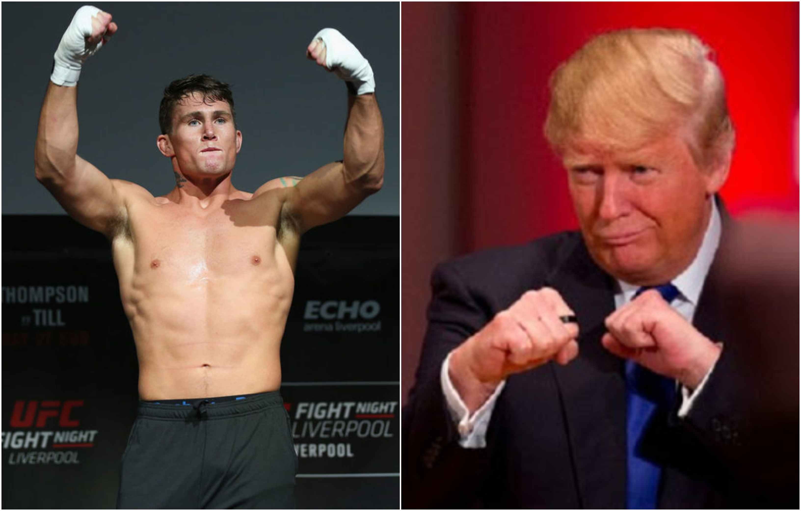 Darren Till claims he slid into Donald Trump's DMs to try and get a UFC 248 visa - Darren Till