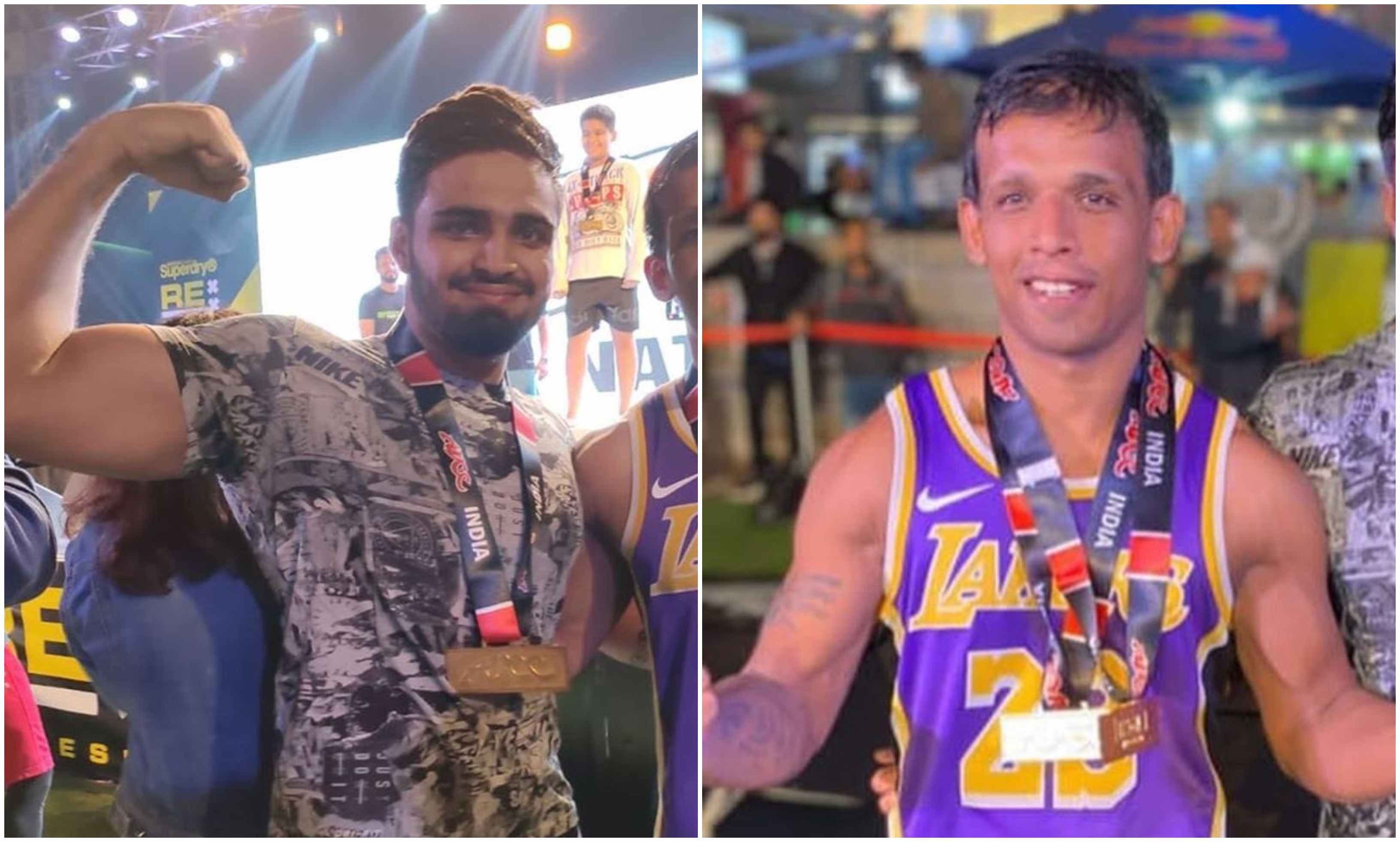 Rayyan Butt and Sahil Dahiya of Team Relentless strike gold at ADCC! - sAHIL