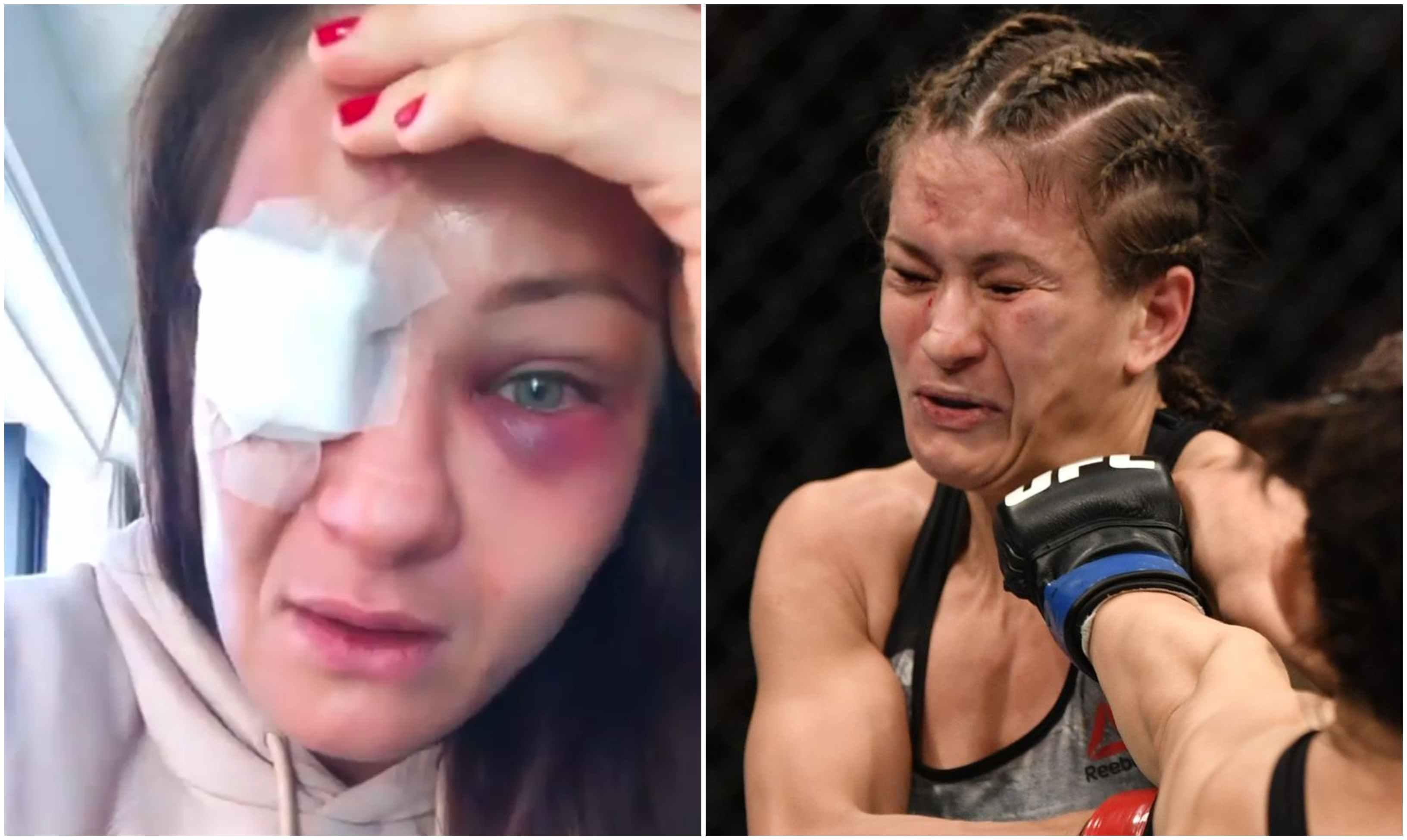 UFC News: Karolina Kowalkiewicz in tears after brutal beating at UFC Auckland - Kowalkiewicz