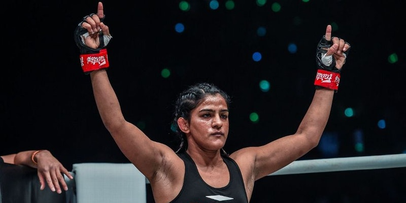 Friday Fighter of the Week : Ritu Phogat -