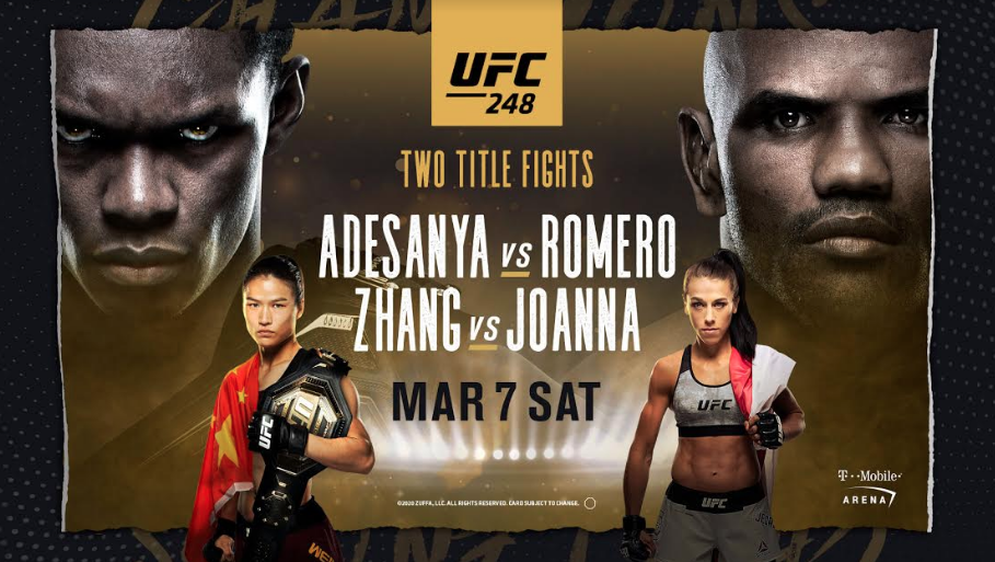 UFC 248 is going to be a can't-miss, action-packed, double title affair! -