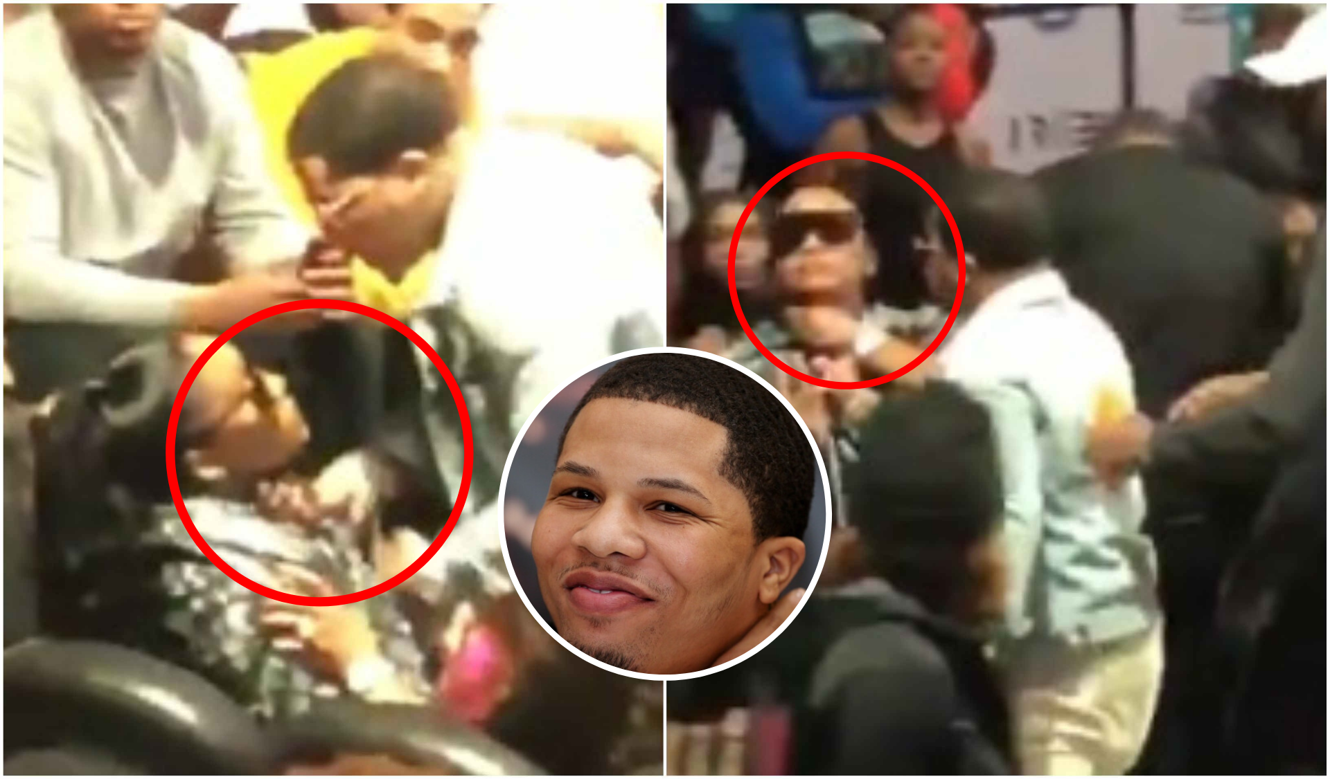 World Champion Boxer Gervonta Davis gets in a physical altercation with a women - Gervonta