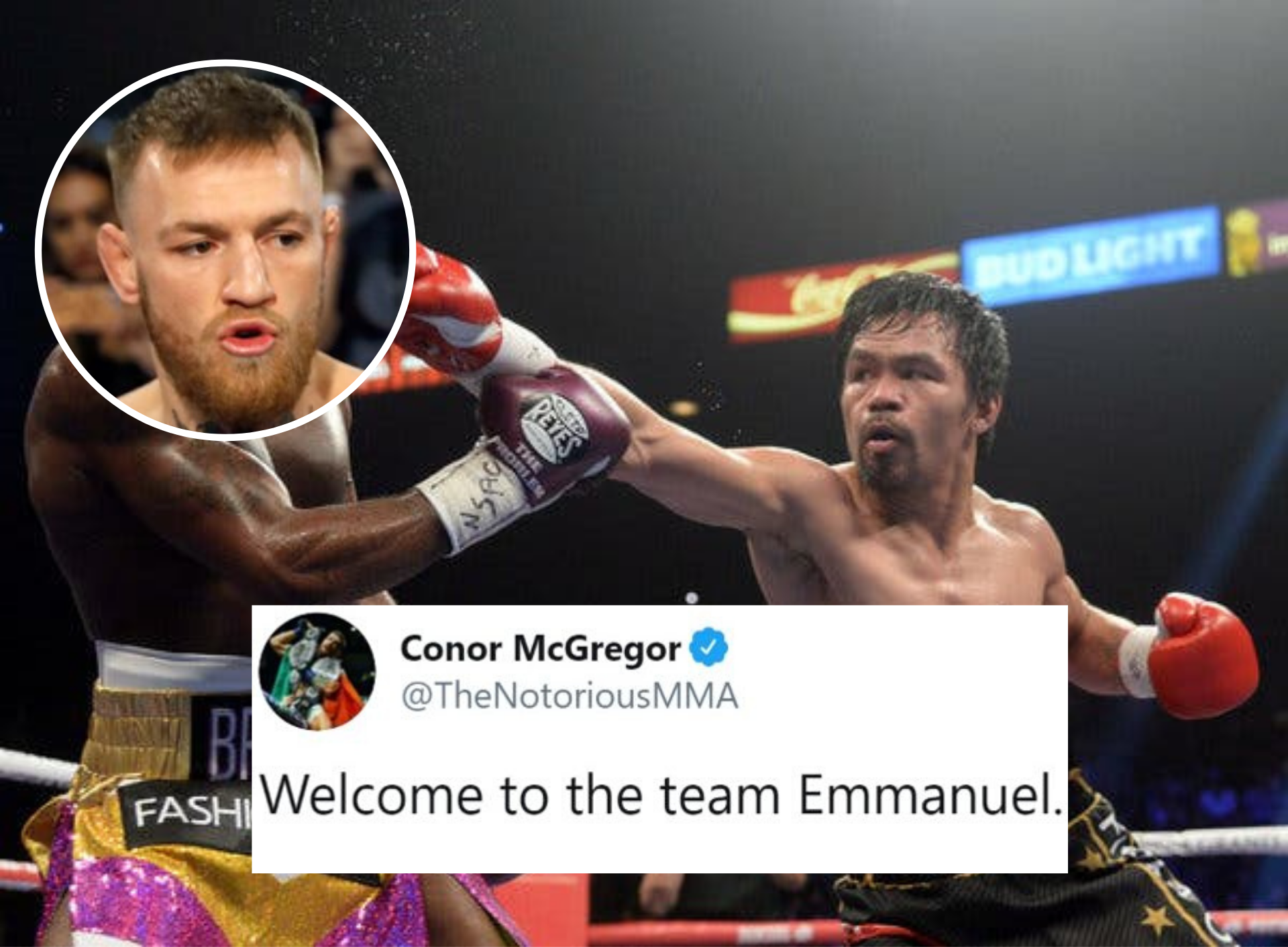 UFC News: Manny Pacquiao signs with Paradigm - the same company that manages Conor McGregor! - Pacquiao