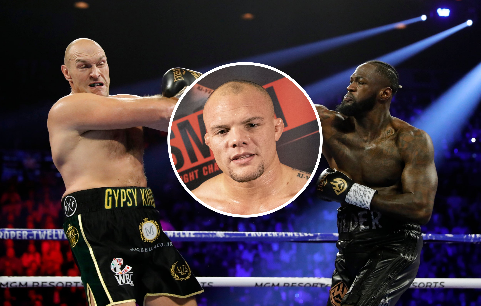 Anthony Smith doesn't think Deontay Wilder will ever beat Tyson Fury - Anthony