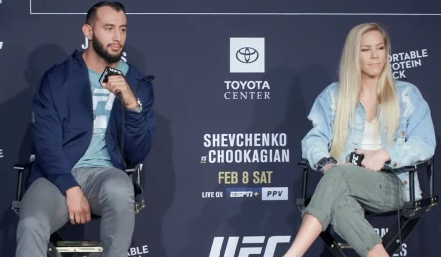 Dominick Reyes, Katlyn Chookagian both willing to give 'dominant champions' Jones and Shevchenko immediate rematches if they win - Chookagian