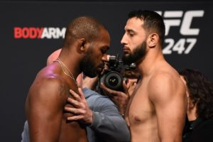 UFC 247, Jon Jones and Dominick Reyes