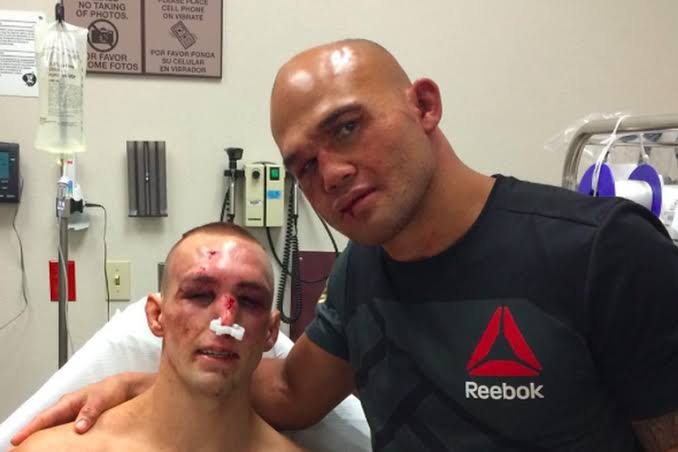UFC: After 2 wars, Rory MacDonald and Robbie Lawler train together - MacDonald