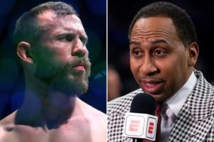 UFC News: Stephen A Smith says it's 'ridiculous' that he isn't allowed to criticize Cowboy Cerrone - Smith