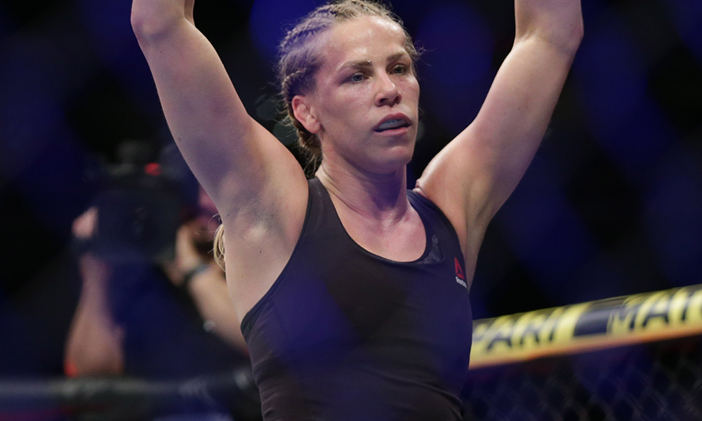 Katlyn Chookagian speaks about her fighting origins: 'I started Karate when I was four!' - Katlyn