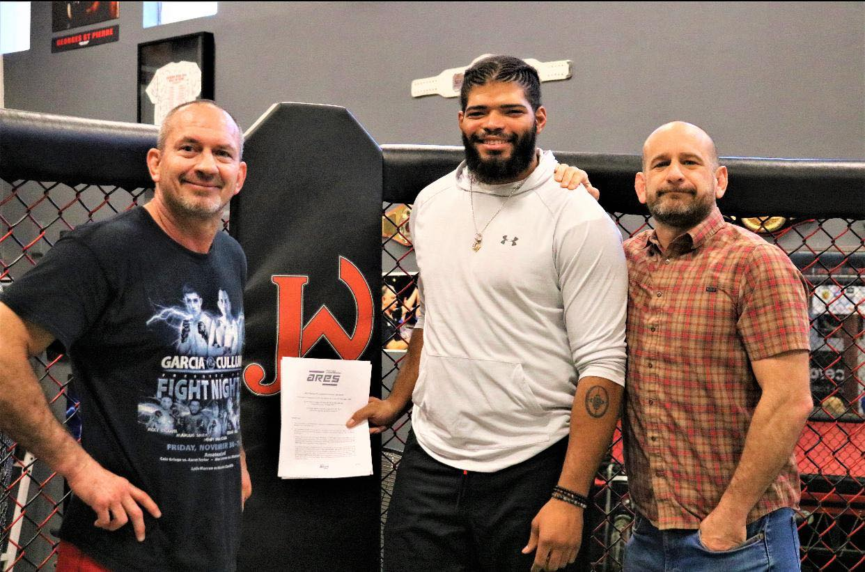 Official: Juan Adams, Wilson Reis & Chris Curtis sign for ARES Fighting Championship -