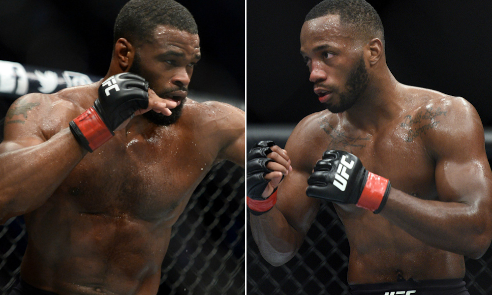 UFC News: Leon Edwards claims UFC forced Tyron Woodley to fight him in the UK - Edwards
