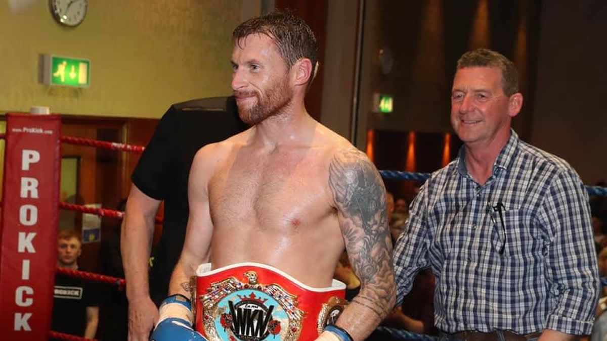 """Johnny """"Swift"""" Smith gets WKN world welterweight title shot -"""