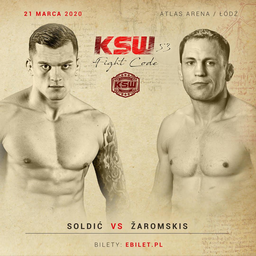 Marius Zaromskis challenges Roberto Soldic at KSW 53 -