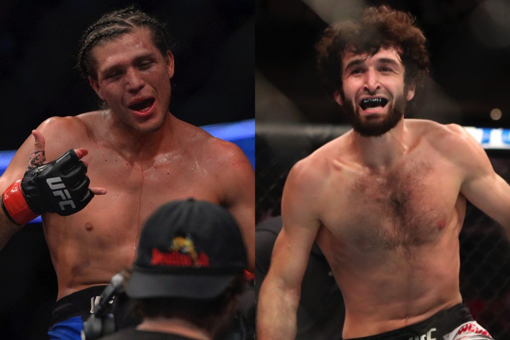 UFC News: Brian Ortega challenges Zabit to fight him in a five rounder 'if he wants to be champ' - Zabit