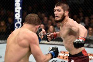 UFC 249, Dana White, Khabib Nurmagomedov and Tony Ferguson