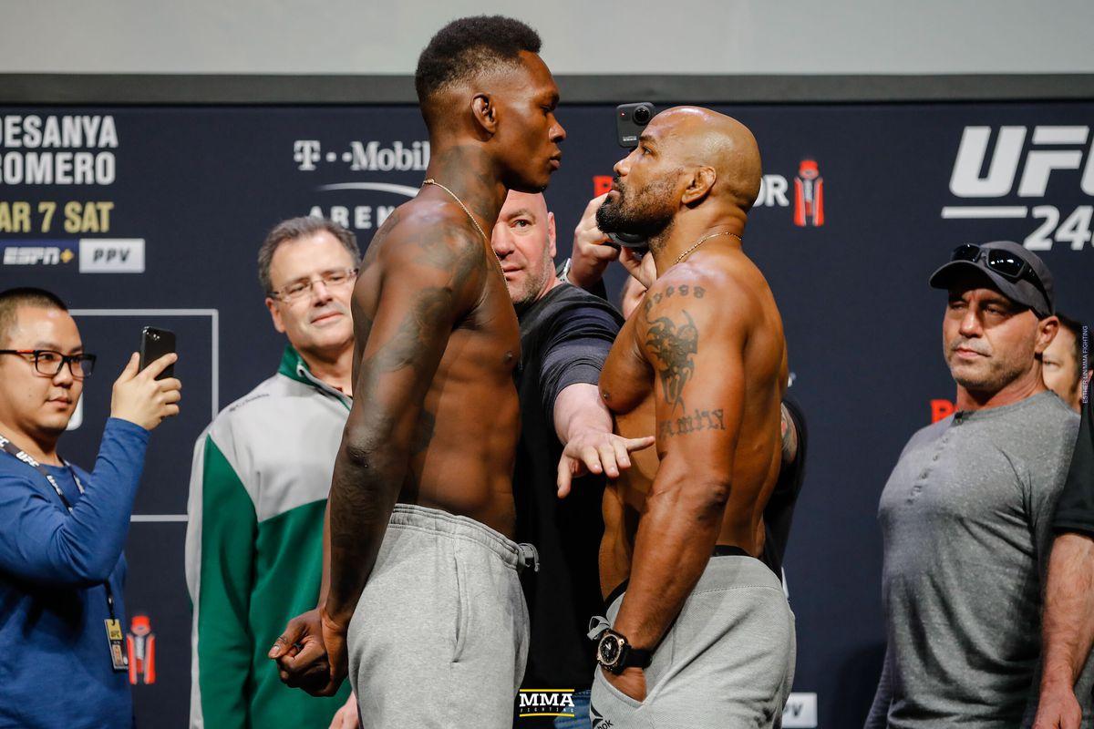 UFC 248 'Adesanya vs. Romero' - Play-by-Play Updates & LIVE Results -