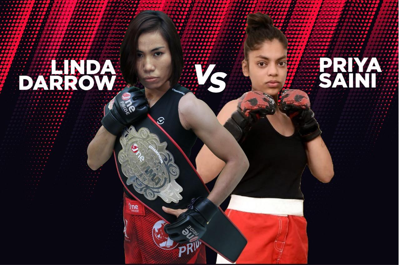 Priya Saini's upcoming fight against Linda Darrow cancelled because of Coronavirus - Coronavirus