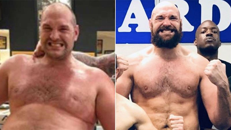 See Tyson Fury's unbelievable physical transformation in the last 2 years! - Tyson