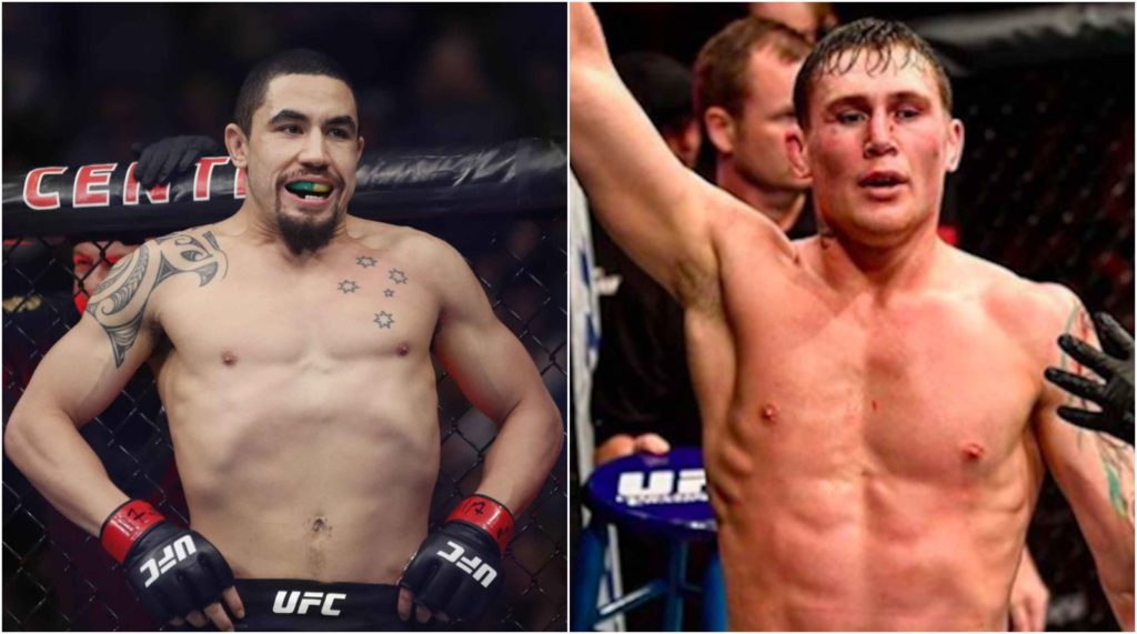 Darren Till vs Robert Whittaker targeted for UFC Dublin - Till