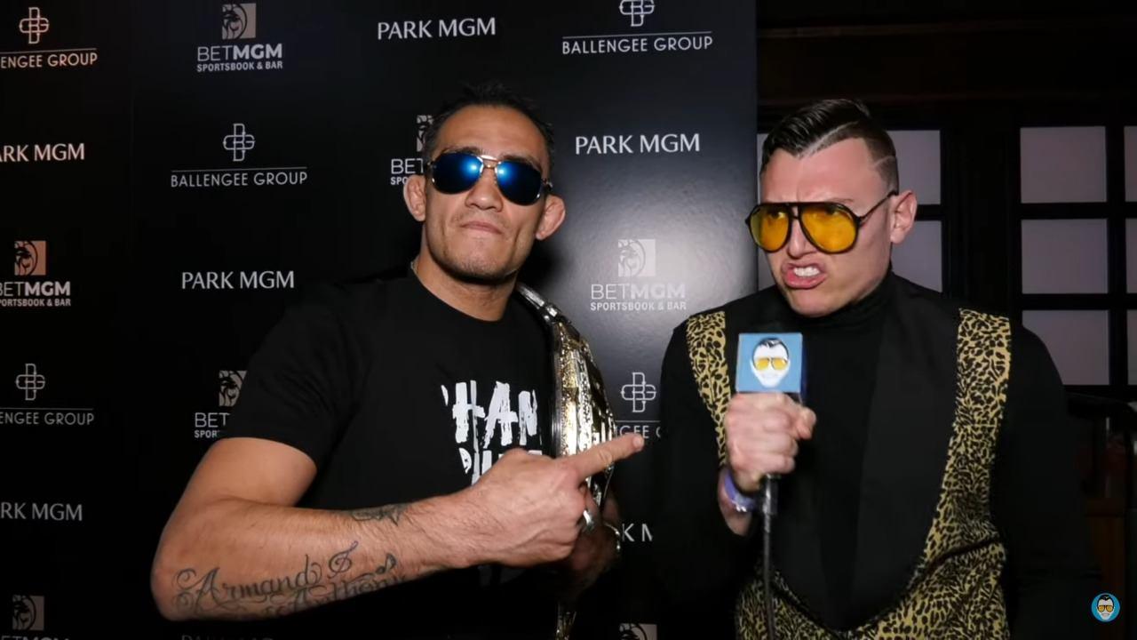 UFC News: Tony Ferguson cuts hilarious WWE-esque promo after Khabib presser - Tony Ferguson