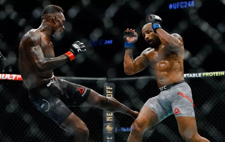 UFC 248 Results - Israel Adesanya Earns Unanimous Decision Over Yoel Romero In A Slow Paced Main Event -