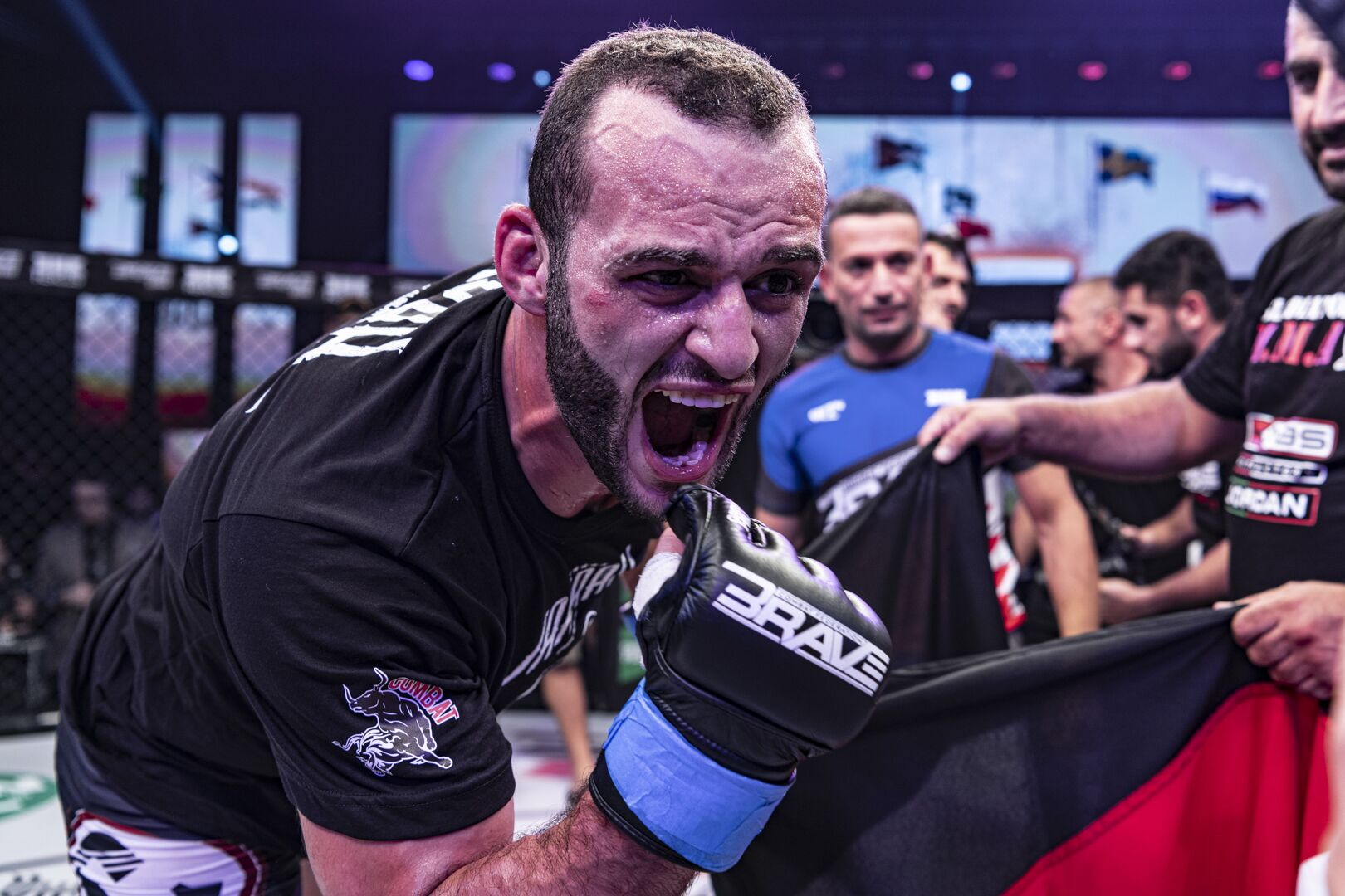"BRAVE CF champ Jarrah bites back, says arch-rival Chimaev is a ""bully"" -"