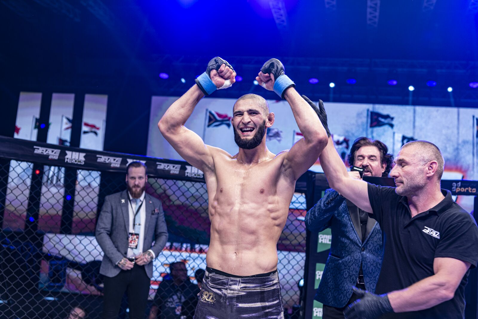 Ahead of BRAVE CF Title Shot, Chimaev Named Breakthrough Fighter of the Year in Sweden -