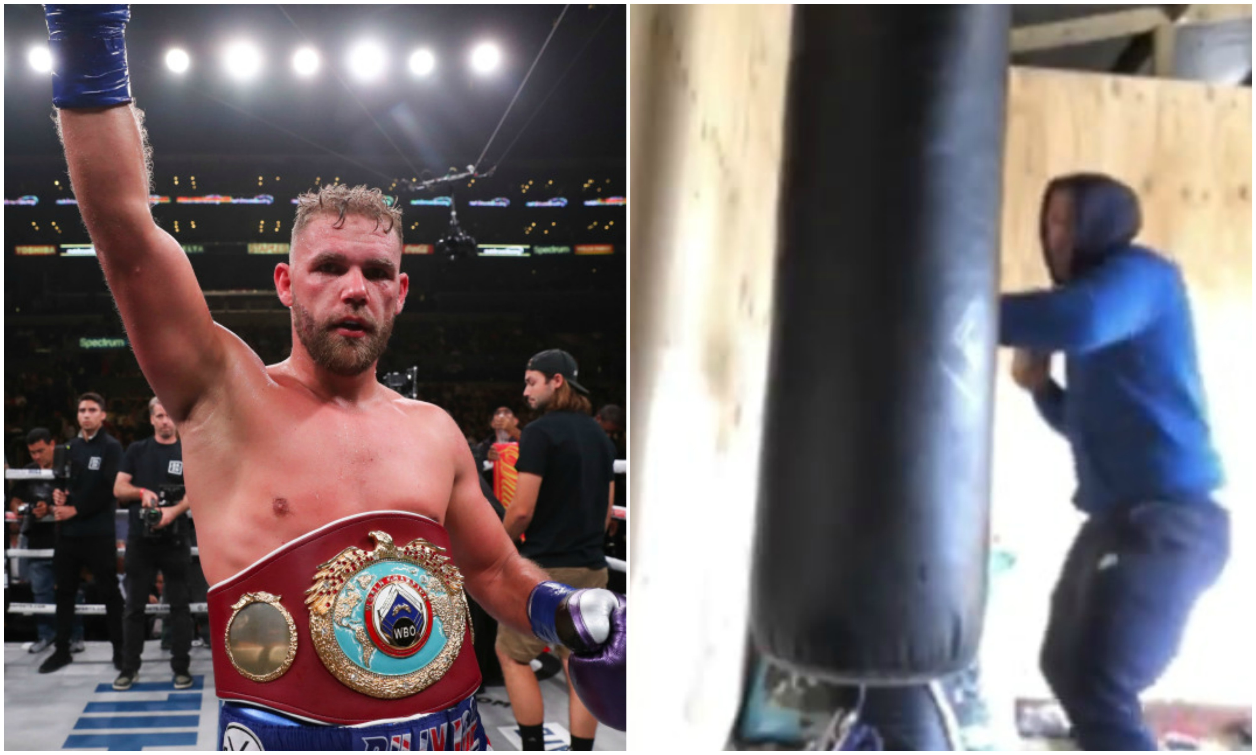 Watch: Billy Joe Saunders posts video on how to hit 'annoying' women at home, gets suspended - Billy Joe Saunders